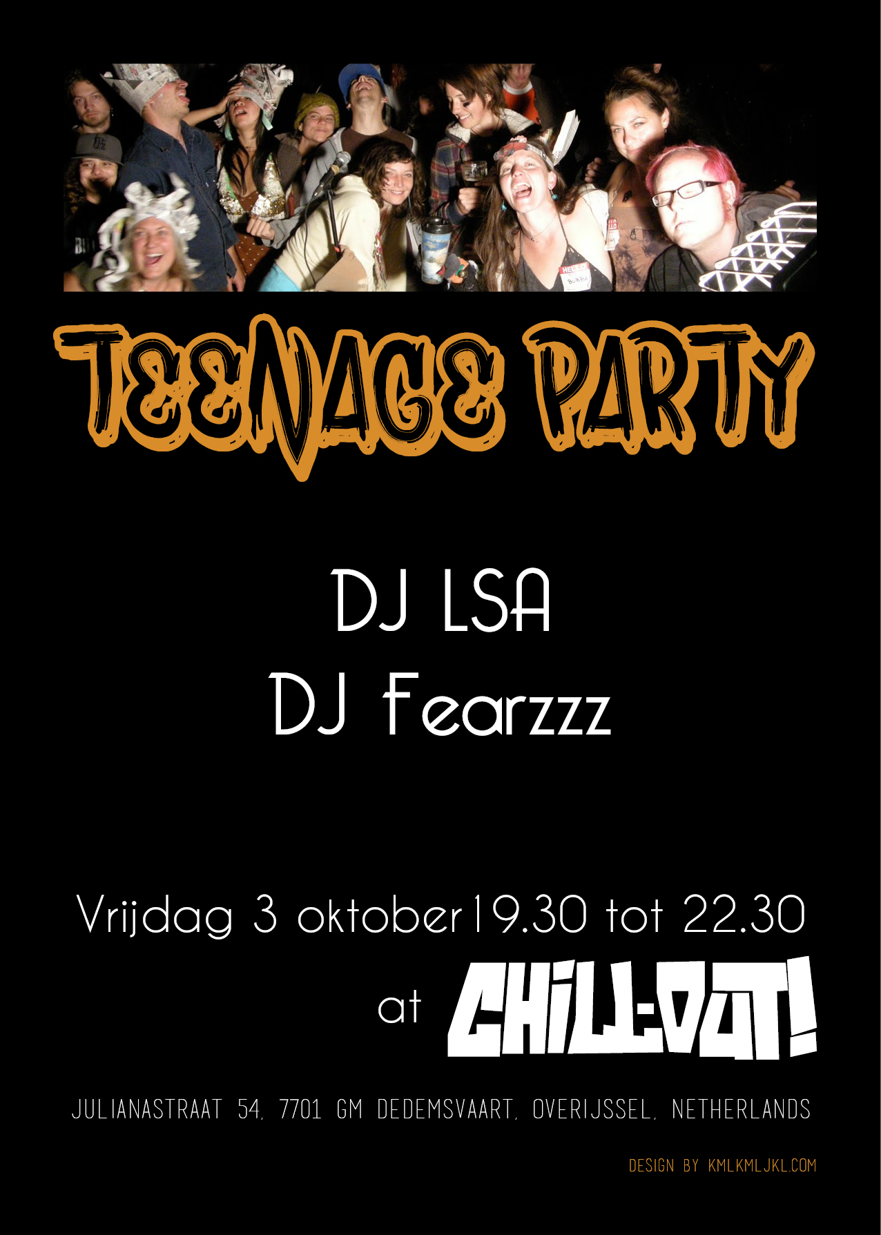 teenagepartyposter